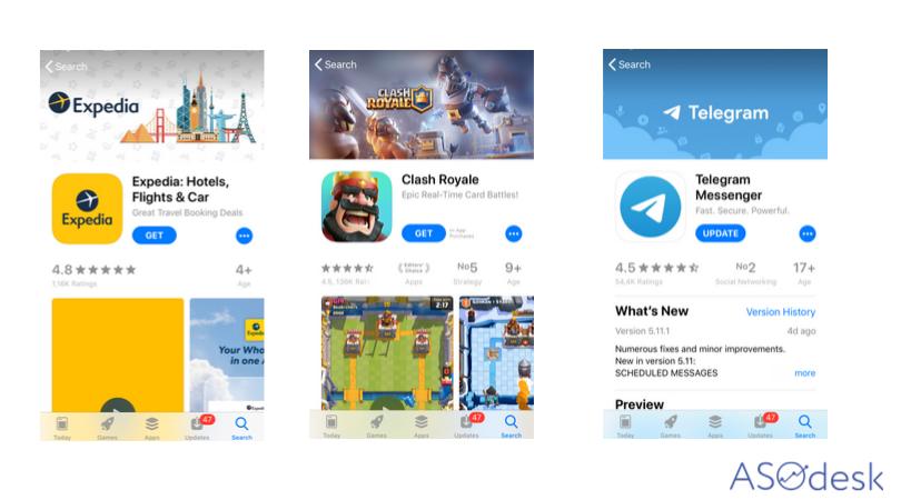 Обложка страницы приложения в App Store
