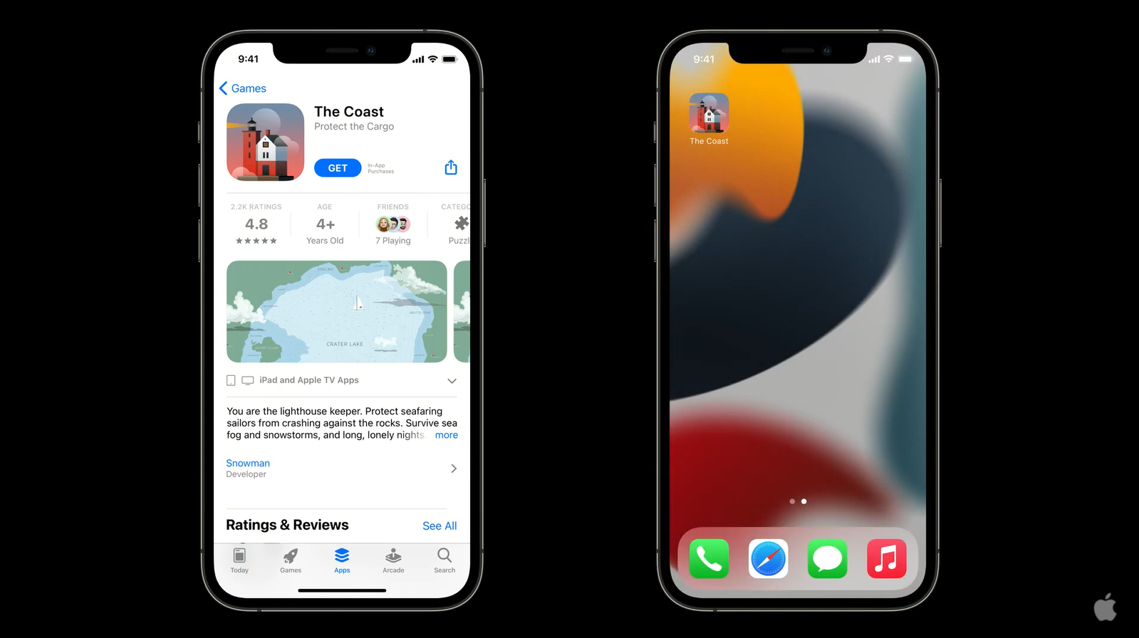 Если пользователь скачает приложение с тестовой страницы из App Store, у него на устройстве появится иконка тестируемой версии